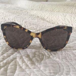 Prada cat Eye sunglasses, tortoise